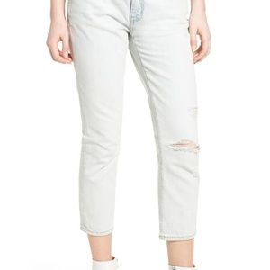 Current Elliot women's The Cropped Straight Sz 30